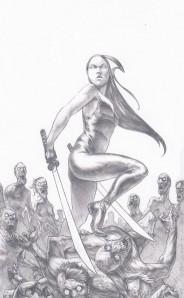 Ninja Woman by Ben Garriga