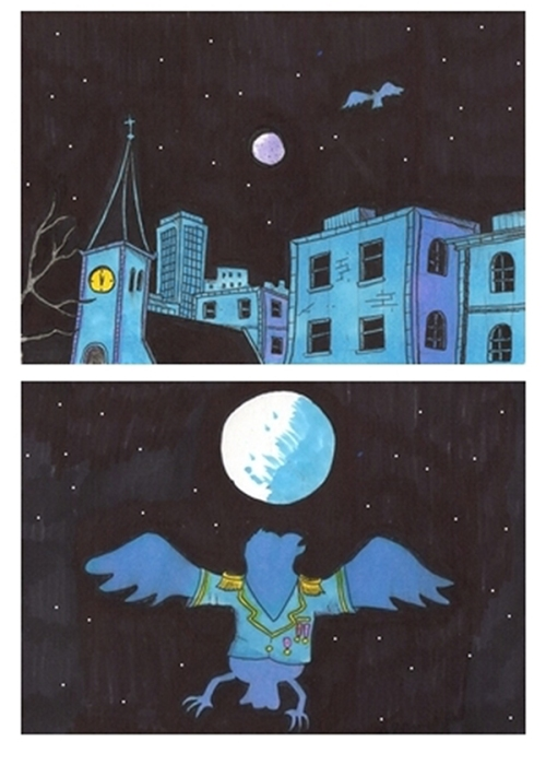 nattfugl