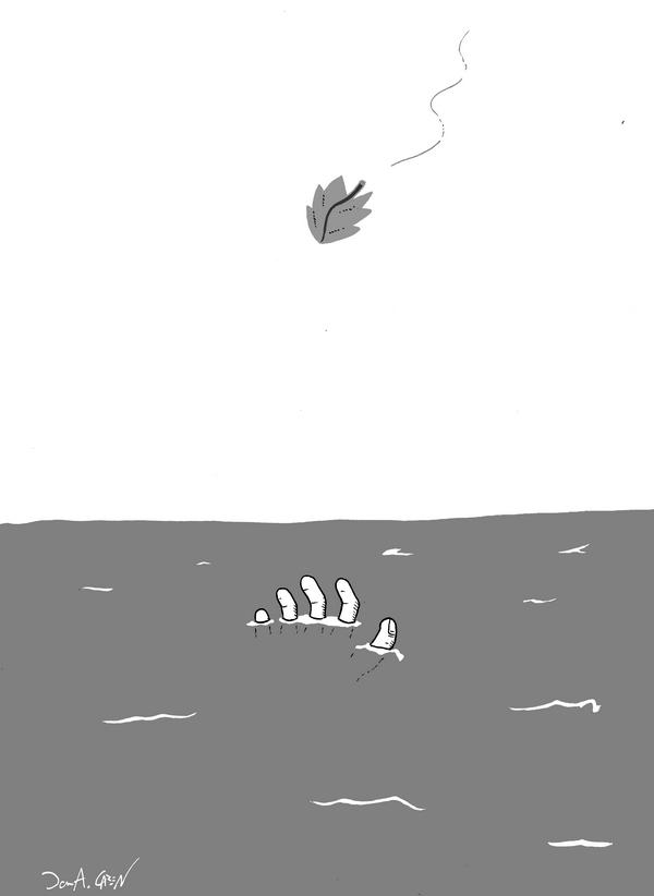 vannskrekk liten